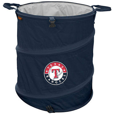 Texas Rangers Collapsible 3-in-1 Trashcan Cooler