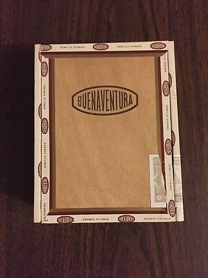 Buenaventura BV 560 Empty Cigar Box. Free Shipping.