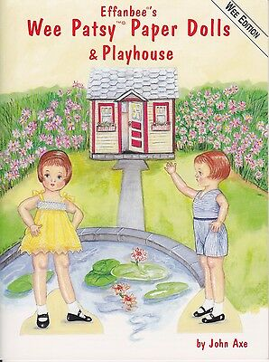 Paper dolls Wee Patsy Paper Dolls and Playhouse by John Axe