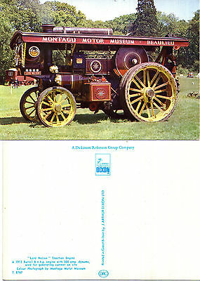1913 Lord Nelson Traction Engine Unused Colour Postcard By Dixon L6 / 7947 T