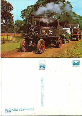 1924 Foden Tractor 4.5 Nhp Unused Colour Postcard By Dixon L6 / 7948 T