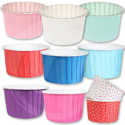 Baking Cups Culpitt - Coloured Baking Cases - Cupcakes Muffins Greaseproof