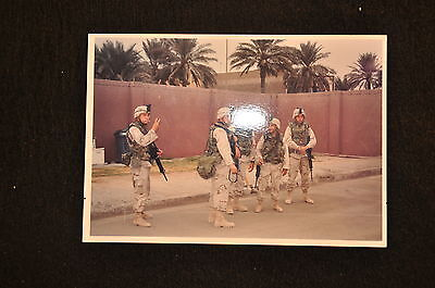 EARLY OPERATION IRAQI FREEDOM 1st ARMORED DIVISION PHOTO - SOLDIERS