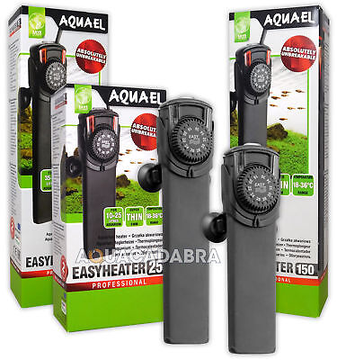 Aquael Easy Heaters Advanced 17-36ºC Easy Mounting Safety Aquarium Fish Tank
