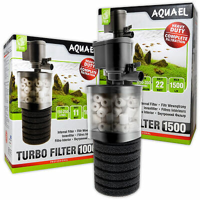Aquael Turbo Filters Mechanical Biological Filtration Aeration Aquarium Fish