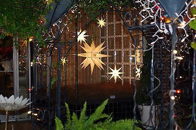 6 Foot Paper Moravian Lighted Star
