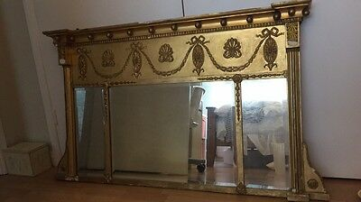 Gold Antique Mirror In Need Of TLC