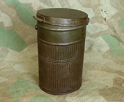 Original WW1 / WWI Relic German army Gas Mask Canister - Short - Rare