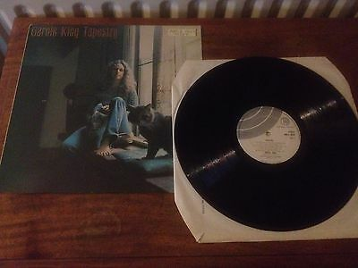 Carole King ‎– Tapestry UK LP EX A&M/ Ode Records AMLS 2025 Silver/white labels