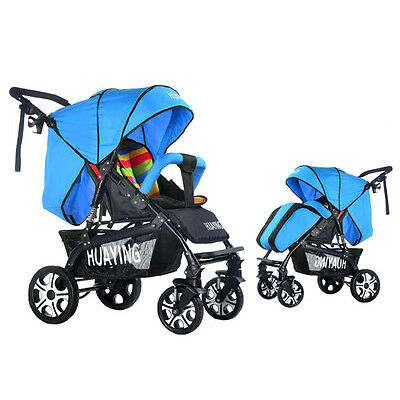 New Infant Stroller Shockproof Folding Pushchair High View Comfort Baby Buggy