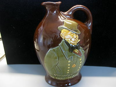 ROYAL DOULTON HUDSON'S BAY Company MICAWBER Bottle Decanter - England c 1930's