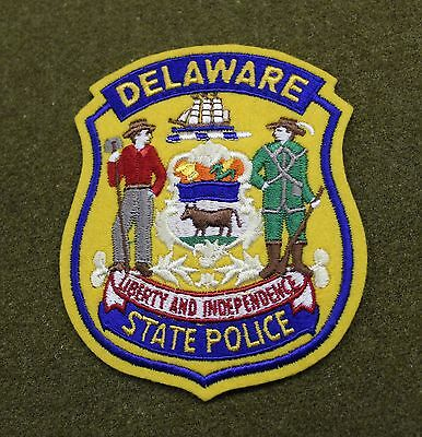 18264)  Patch Delaware State Police Liberty & Independence Insignia Sheriff