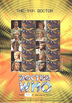 BC-061 2005 Doctor Who - The 5th Doctor Business Smilers Sheet