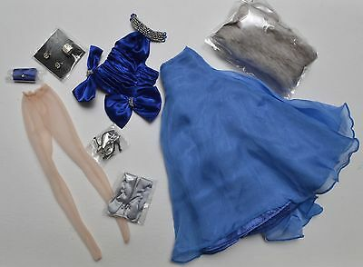 Blue Serenade Katy Keene OUTFIT & ACCESSORIES Fashion Royalty