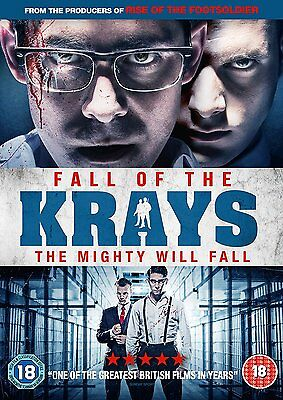 Fall Of The Krays [DVD] [2016] New Sealed