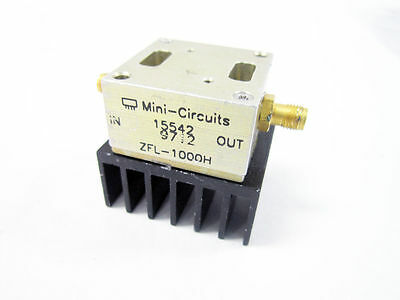 Mini-Circuits Zfl-1000H 10 To 1000 Mhz Broadband Coaxial Amplifier