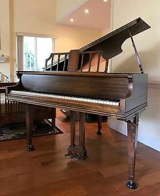 ANTIQUE 1915 MARSHALL & WENDELL BABY GRAND PIANO SN: 113844 Great Condition