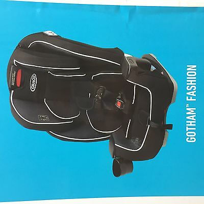 Graco Milestone All-In-One Baby Infant Child Toddler Car Seat - Gotham