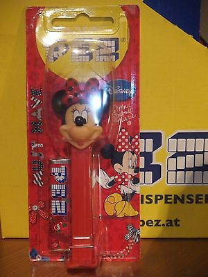 1 Pez -Minnie Mouse-Disney-Mad About Minnie-On Card-Low  Shipping!
