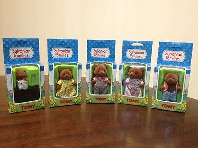 Bear Sylvanian Family. Unused and boxed. Rare vintage TOMY