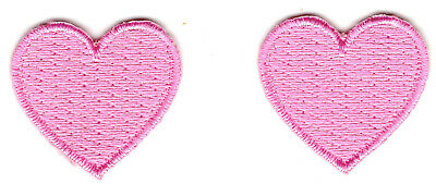 """Love Miniatures - Iron On Embroidered Patch YELLOW HEART Heart 1/"""""""