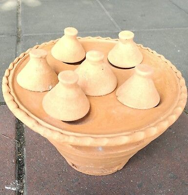 Ancient Typical Original Earthware Cooking Charcoal Stove For Sweet & Barbeque