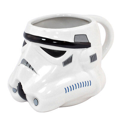 Official Licensed Product Star Wars Storm Trooper 3D Mug Ceramic Cup Gift New