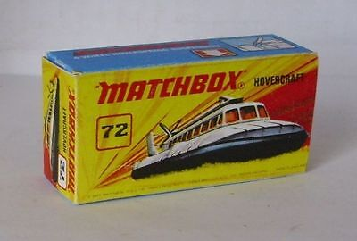 Repro Box Matchbox Superfast Nr.72 Hovercraft