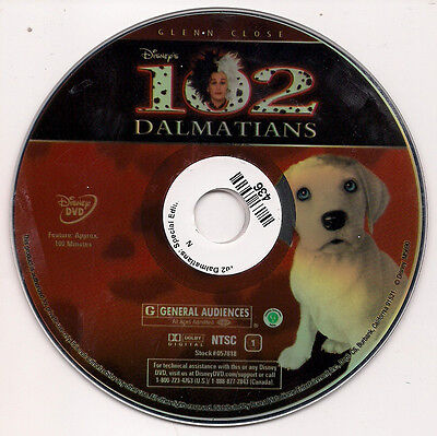 102 Dalmatians (DVD, 2008) No cover