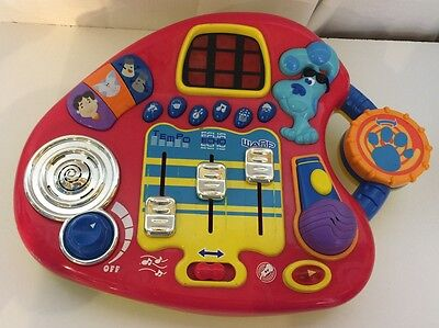 BLUES CLUES Electronic Mixin' Music Studio Musical Learning Toy 2001 Mattel DD