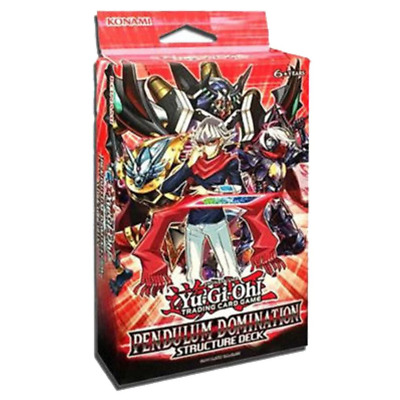 (PREORDER) YU-GI-OH! TCG Pendulum Domination Structure Deck
