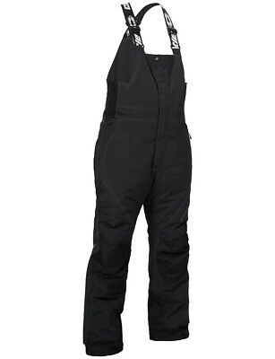Castle X Mens Black Phase Insulated Snowmobile Bibs Pants Snocross