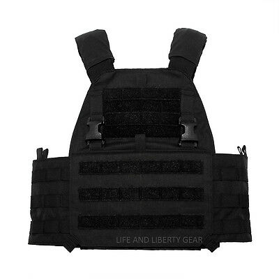 Mayflower RC APC Assault Plate Carrier BLACK - L/XL LARGE Velocity Systems