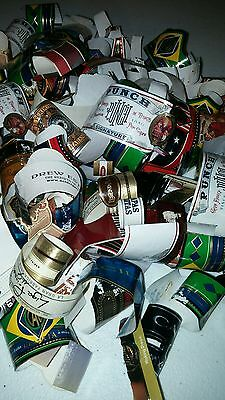 Cigar Bands Labels Mixed Used Lot Stogie Tobacco