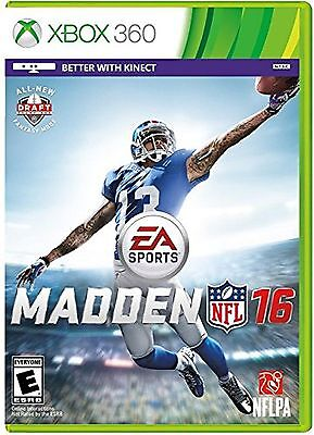 Madden NFL 16  Xbox 360 Game Brand New and Sealed