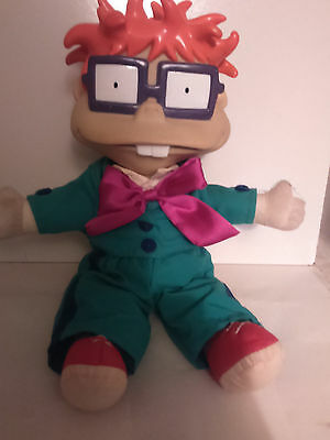 """Rugrats Chuckie 13"""" Soft toy with hard head from Rugrats in Paris the Movie"""