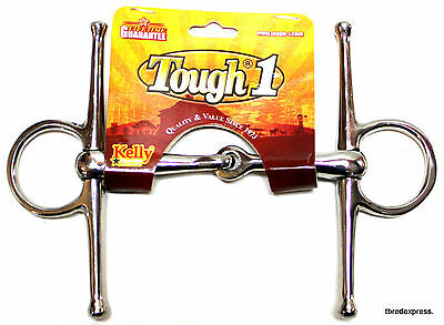 """3 1/2"""" Stainless Steel Full Cheek Snaffle Mouth Bit Western English Horse Tack"""