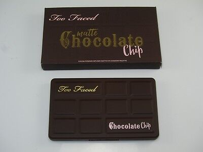 Too Faced Matte Chocolate Chip Eyeshadow Palette Limited Edition In Stock Aus