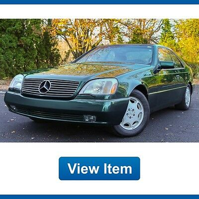 1996 Mercedes-Benz S-Class  1996 Mercedes S500 coupe fully serviced by dealer Low 75K mi CARFAX