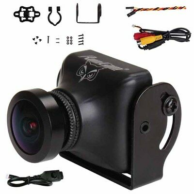 RunCam Owl Plus 700TVL FPV Racing Camera FOV 150 (BLACK): Racing Quad Drones