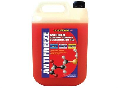 Silverhook D/ISHAR4 Concentrated Red Antifreeze O.A.T. 4.5 Litre