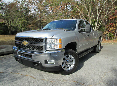"""2011 Chevrolet Silverado 2500 4WD Ext Cab 158.2"""" LT ONE OWNER CLEAN CARFAX 6.6L DURAMAX DIESEL 4X4 LEATHER LONG BED POWER SEAT LT"""
