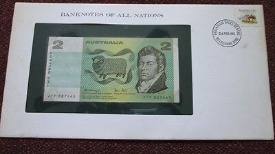 Australia P-43c 2 Dollars 1979 Unc Banknotes of All Nations