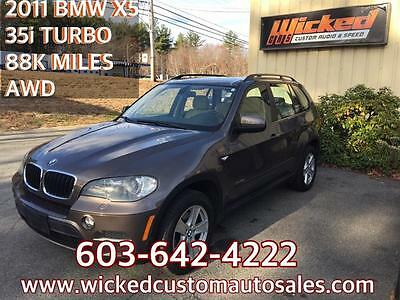 2011 BMW X5  BMW X5 35i XDrive AWD TWIN POWER TURBO N55 CLEAN 2011 LOW 88K MILES