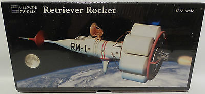 Space : Retriever Rocket 1/72 Glencoe Re-Issue Model Kit. 06002
