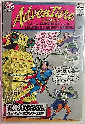 DC Comics - Adventure Comics Issue #340 - Silver Age -1960s - 1st Computo