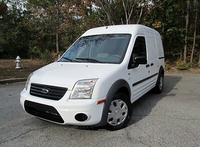 "2013 Ford Transit Connect 114.6"" XLT w/o side or rear door glass ONE OWNER CLEAN CARFAX ADVANCE TRAC RSC XLT REAR VIEW CAMERA RACKS SPEED CONTROL"