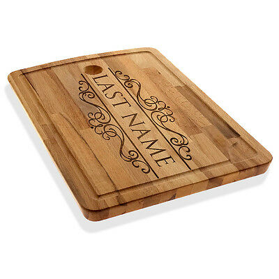 Personalized Cutting/Chopping Board Custom Last name Cheese Board Serving Tray