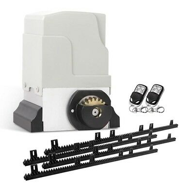 Automatic Sliding Gate Opener - 1800kg with 2 Remote Controls