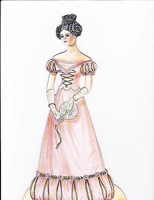 Paper Doll Miss Unity UFDC 1989 40th Anniversary Convention by Peggy Jo Rosamond